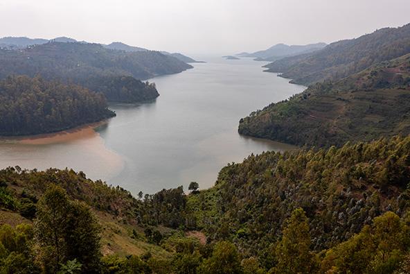 נוף קסום באגם קיבו
