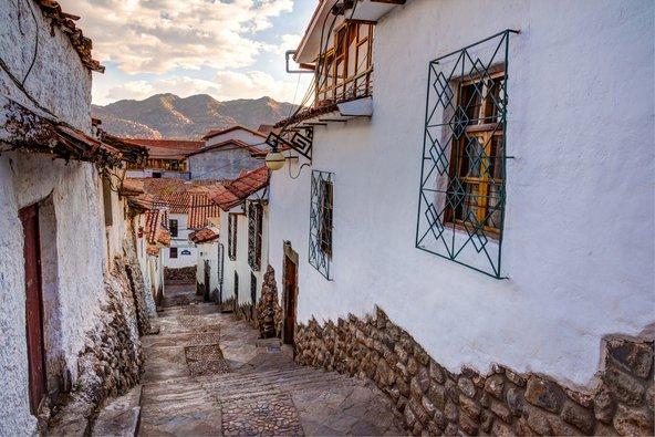 סמטה בקוסקו, העיר העתיקה ביבשת