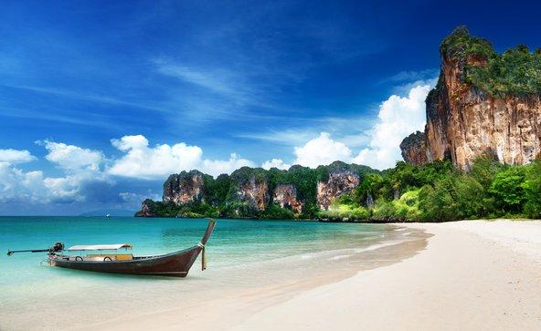 חוף ריילי בקראבי, מהחופים היפים בתאילנד