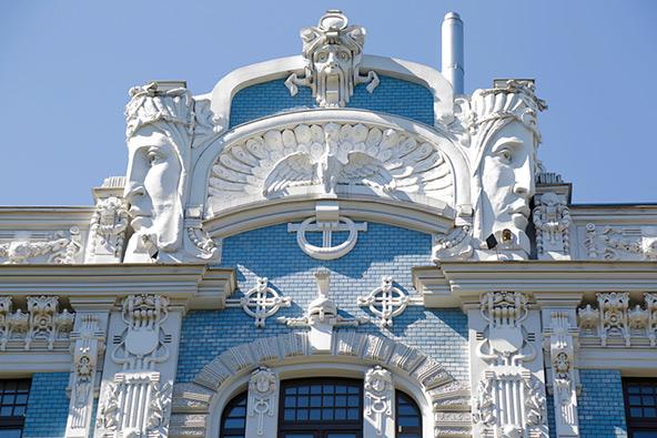 אוהבי אדריכלות יחגגו בריגה, עם כמות גדולה במיוחד של בניינים בסגנון אר-נובו
