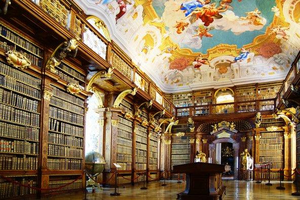 הספרייה העתיקה של מנזר מלק