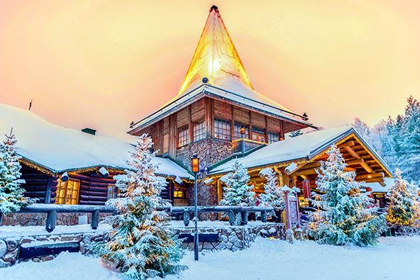 הכפר של סנטה קלאוס