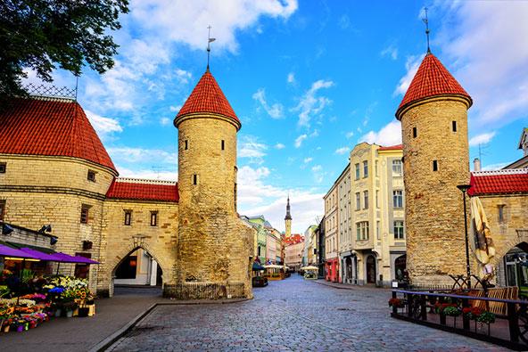 טאלין, בירת אסטוניה. אי אפשר להניח את המצלמה...
