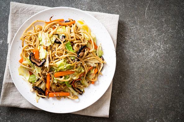 מנות צמחוניות, הנפוצות במסעדות, הן אחת האופציות העומדות למי שיש לו הגבלות מזון