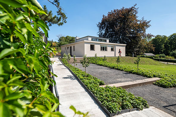 Haus am Horn, בית מגורים לדוגמה של הבאוהאוס | Klassik Stiftung Weimar, photo: Thomas Müller