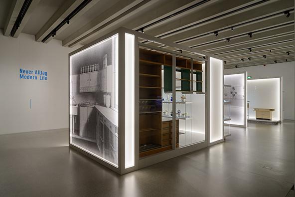 תערוכת חיים מודרניים במוזיאון הבאוהאוס בוויימאר | צילום © CLAUS BACH ® PHOTOGRAPHY