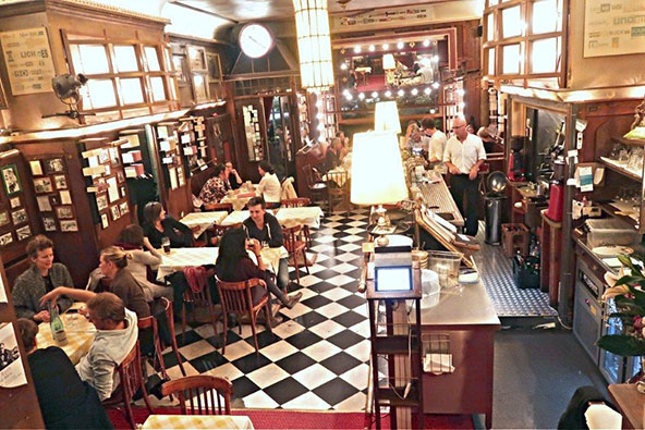 החדרון של ג'וזף רוט, אוכל גרמני מינימליסטי וטעים | צילום: רוני ערן