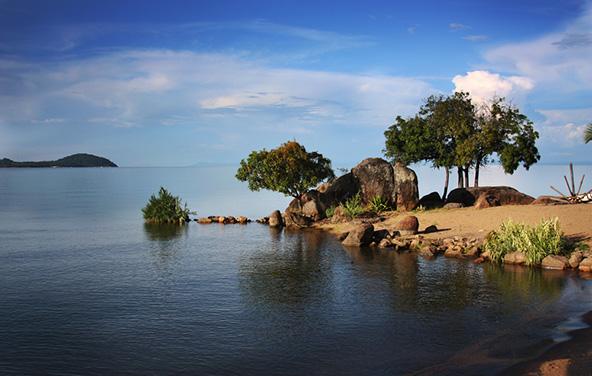 שלווה מושלמת באגם מלאווי