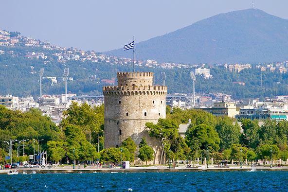 המגדל הלבן של סלוניקי, עיר שקל להתאהב בה