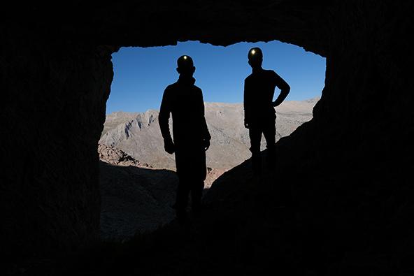 על דובים ומערות בהרי הטאורוס