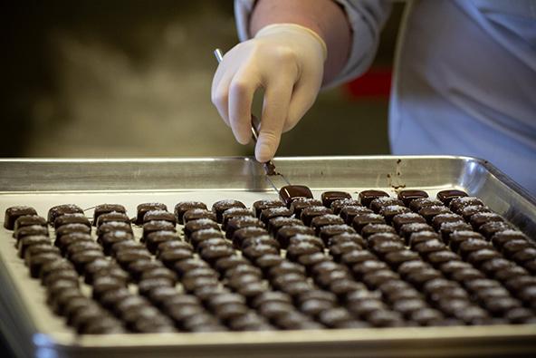 מפעל שוקולד מקומי באיזור מרלבורו