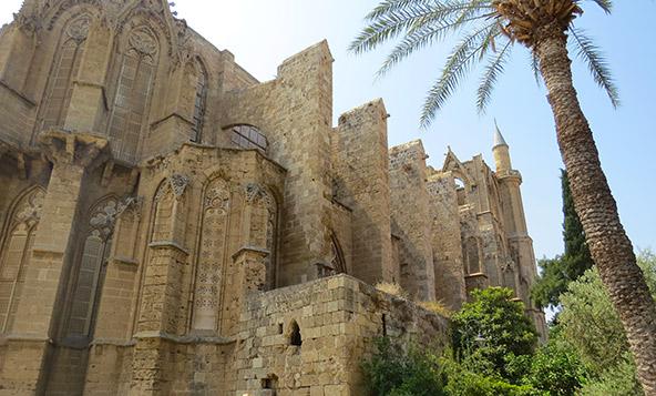 פמגוסטה - קתדרלת ניקולאס הקדוש שהוסבה למסגד