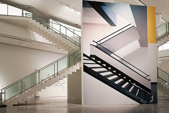 מתוך התערוכה original bauhaus בברלין, installation by Renate Buser, photo: Catrin Schmitt