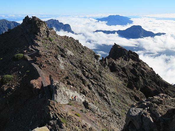 הר הגעש לה טבוריינטה בלה פלמה – טיול לים של עננים | צילום ליאור עלמה וקסלר