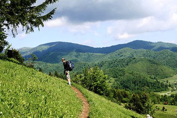טרק בקרפטים: אל ראש ההר