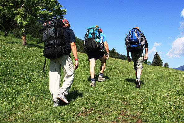 היום הראשון, מתחילים לטפס ומגלים את היתרונות והחסרונות של הגיל...