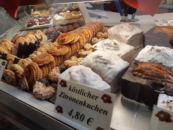 עוגות סוף בקונדיטוריה רוז, ויימאר | צילום: רוני ערן