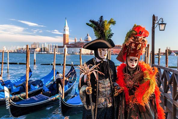 קרנבל המסכות בוונציה. סוכני נסיעות יודעים להמליץ על אירועים מיוחדים ואטרקציות מעניינות ביעד