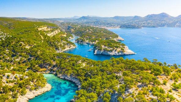 שמורת קלנקס, שמורה ימית יפהפייה בה רכס מסיף דה קלנקס פוגש את הים התיכון