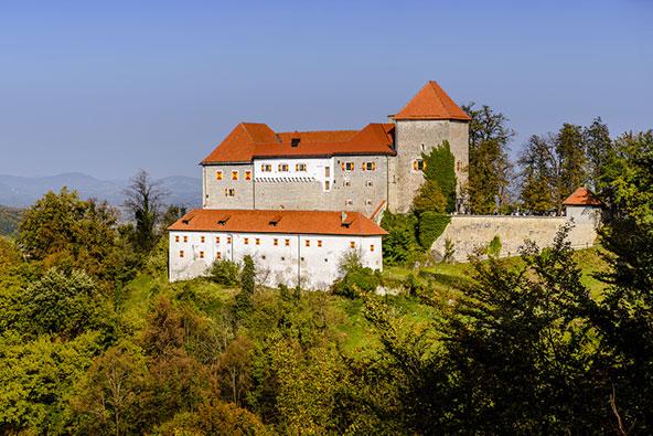 טירת פודסרדה, אחת הטירות היפות בסלובניה