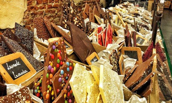 חנות שוקולד בברוז'