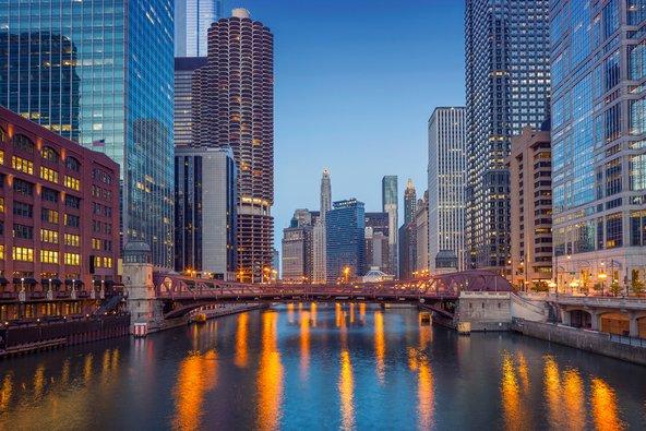 קו הרקיע של שיקגו. יעד מומלץ לאוהבי אדריכלות מודרנית