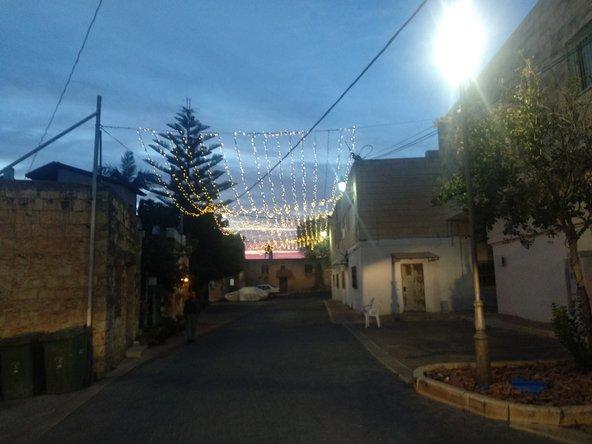 אורות חג ראשונים בכפר השל מעיליא | צילום: סימי שאואר