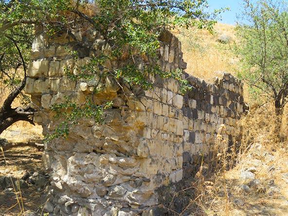 שרידי טחנת קמח בנחל תבור | צילום: עמית מנדלסון