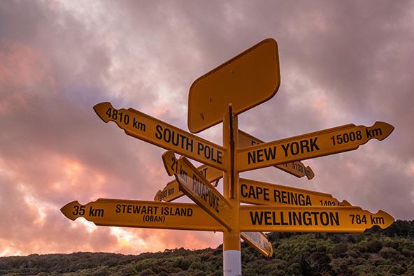 לייב מניו זילנד: קצה העולם דרומה