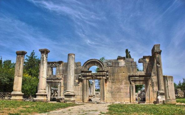 שרידי בית הכנסת המפואר בברעם | צילום:יאיר ארונשטם, CC BY-SA 2.0