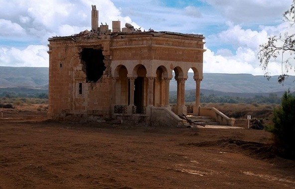 בארץ המנזרים. מנזר ישן, חצי הרוס, ועדיין עוצר נשימה ביופיו | צילום: אורטל צבר