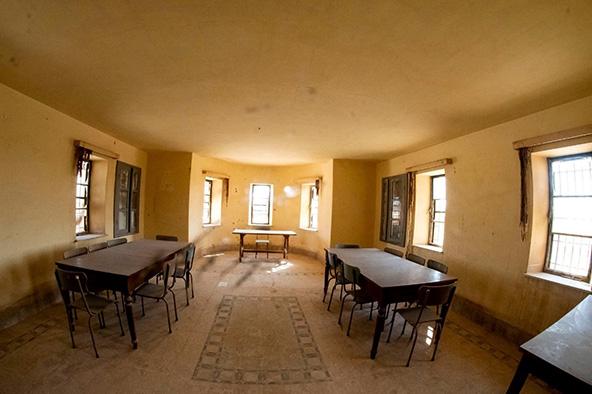 חדרי אירוח בהקפלה הפרנציסקנית | צילום: אורטל צבר