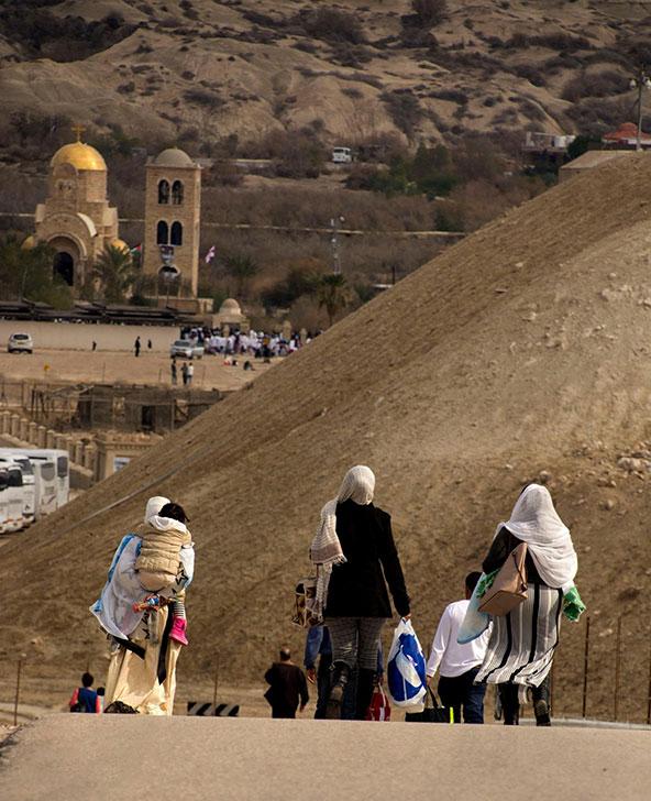 אתר הטבילה קאסר אל יהוד | צילום: אורטל צבר