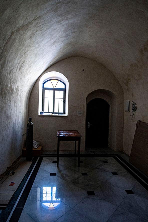 המנזר היווני אורתודוכסי על שם יוחנן המטביל | צילום: אורטל צבר