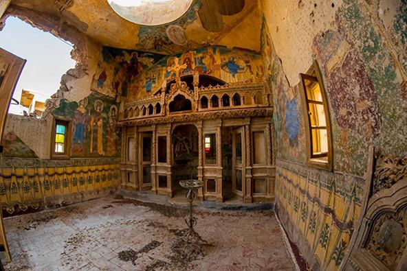 המנזר הרומני | צילום: אורטל צבר