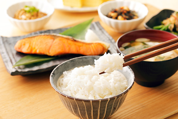 ארוחת בוקר יפנית מסורתית