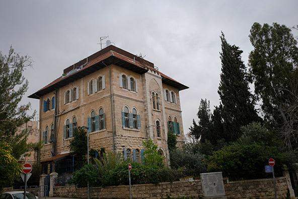 בית במושבה הגרמנית בירושלים