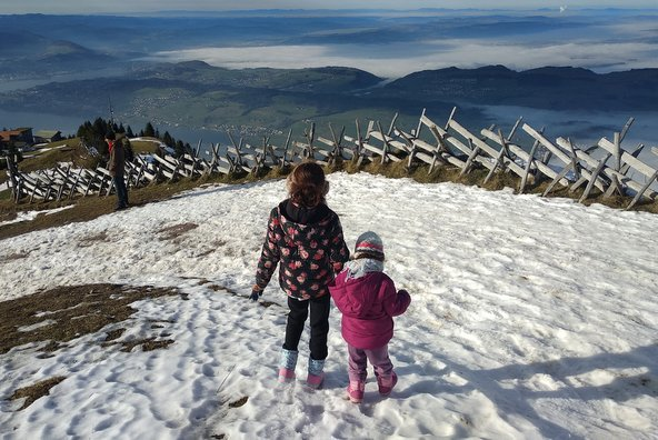 הנוטף הנשקף מפסגת הר ריגי | צילום: סימי שאואר