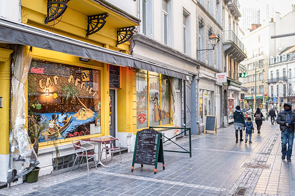 בבריסל יש כ-2,000 מסעדות, חלקן מסורתיות ואחרות משקפות את המגוון הרב תרבותי של העיר | צילומים: visit.brussels