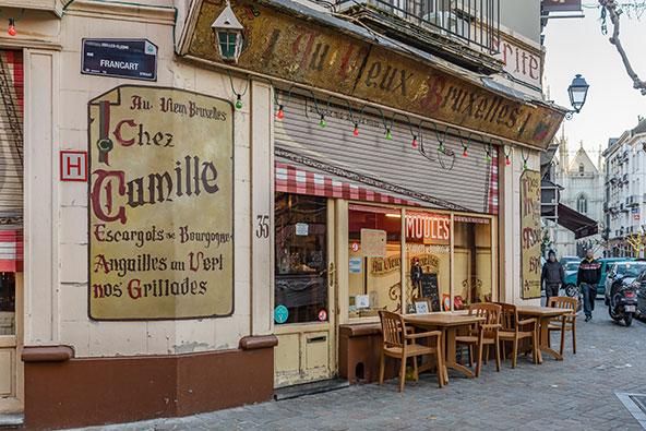 מסעדה מסורתית בבריסל
