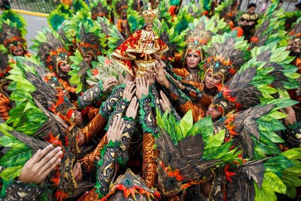 אל תתבלבלו, זה לא דרום אמריקה... פסטיבל סינולוג   צילום: סלזר פרדריק, באדיבות משרד התיירות של הפיליפינים (PDOT)