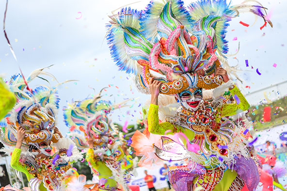 פסטיבל מסקרה בעיר בקולוד, פיליפינים