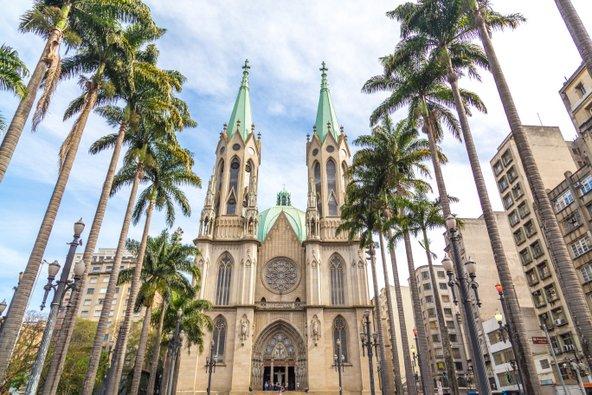 הקתדרלה המרשימה של סאו פאולו