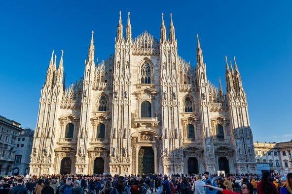 הדואומו של מילאנו, מהקתדרלות הגדולות והמפוארות בעולם | צילום: yakub88 / Shutterstock.com