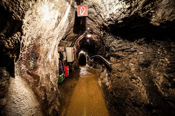 מכרה ארצברג. מרתק לסייר בתוך מכרה פעיל ולראות את עבודות הכרייה הנעשות במקום