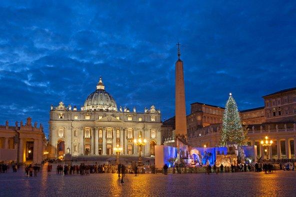 אם אינכם נרתעים מהקור, תמצאו שרומא נהדרת בחורף, למשל בתקפת חג המולד