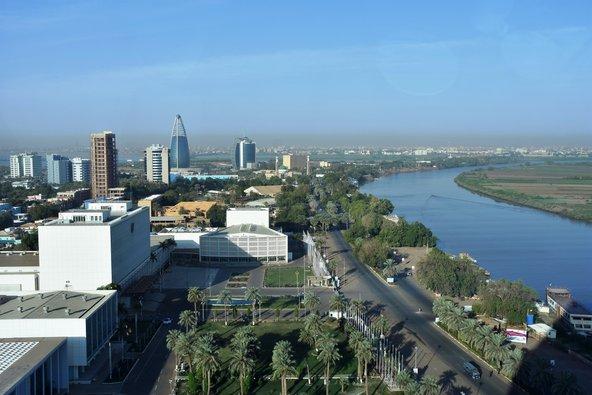 חרטום, בירת סודן והעיר המודרנית במדינה | צילום: Claudiovidri / Shutterstock.com
