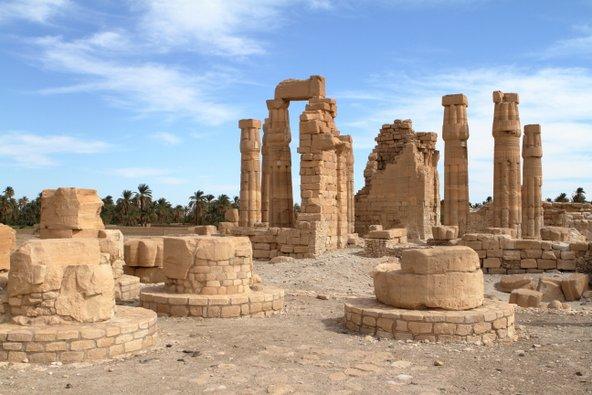 שרידי המקדש המצרי בסולב
