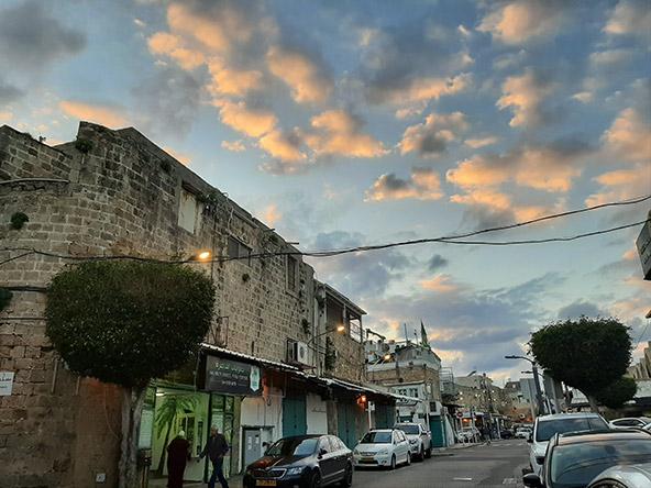 רחוב סאלח א דין בעכו, שבו ממוקמת מסעדת פלוקה של השף סעיד