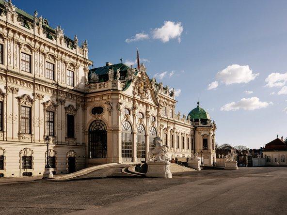 ארמון בלוודר, אחד הארמונות המרשימים בווינה | צילום:  WienTourismus/Paul Bauer ©